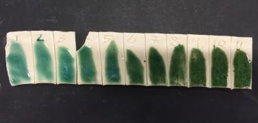 Line blend glaze test